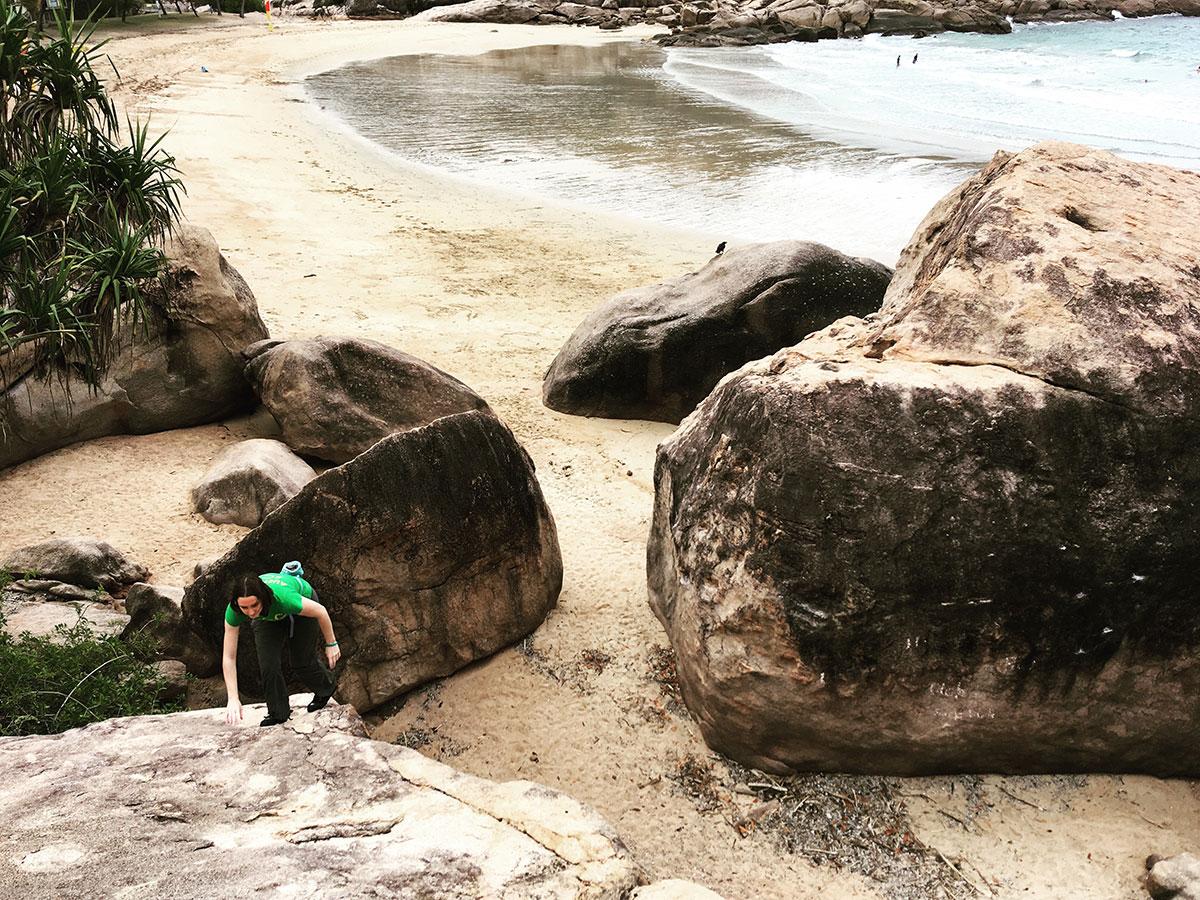 Magnetic Island boulders