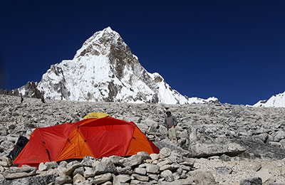 The Mont Epoch on Ama Dablam