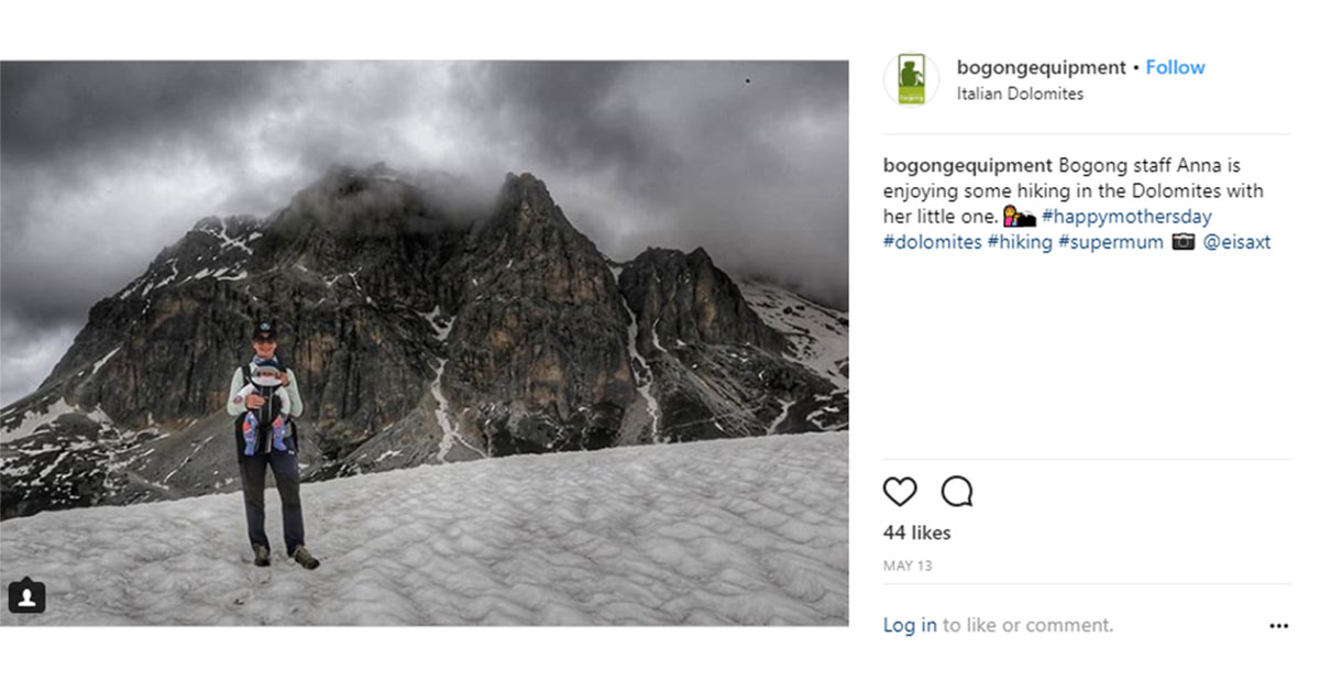 Bogong Instagram screenshot