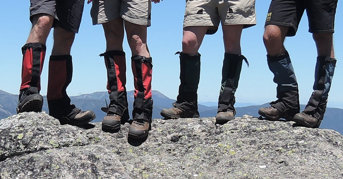 Hikers and their boots