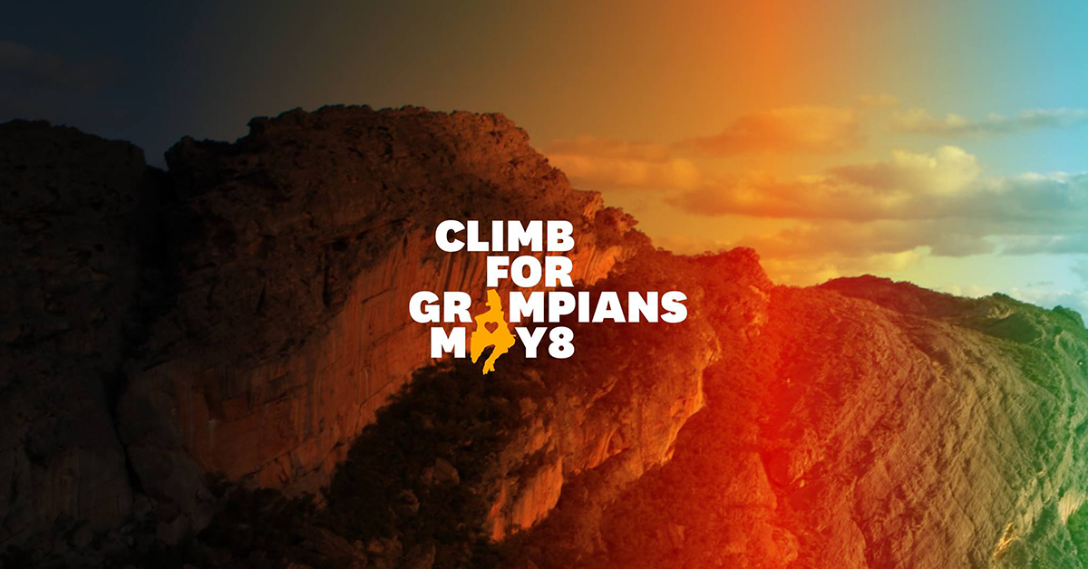 Climb for Grampians May 8