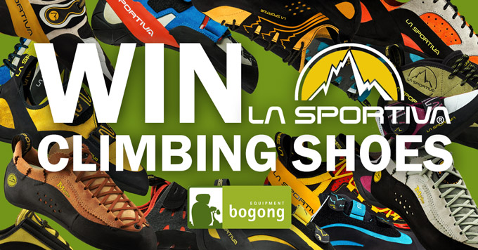 Win La Sportiva Climbing Shoes