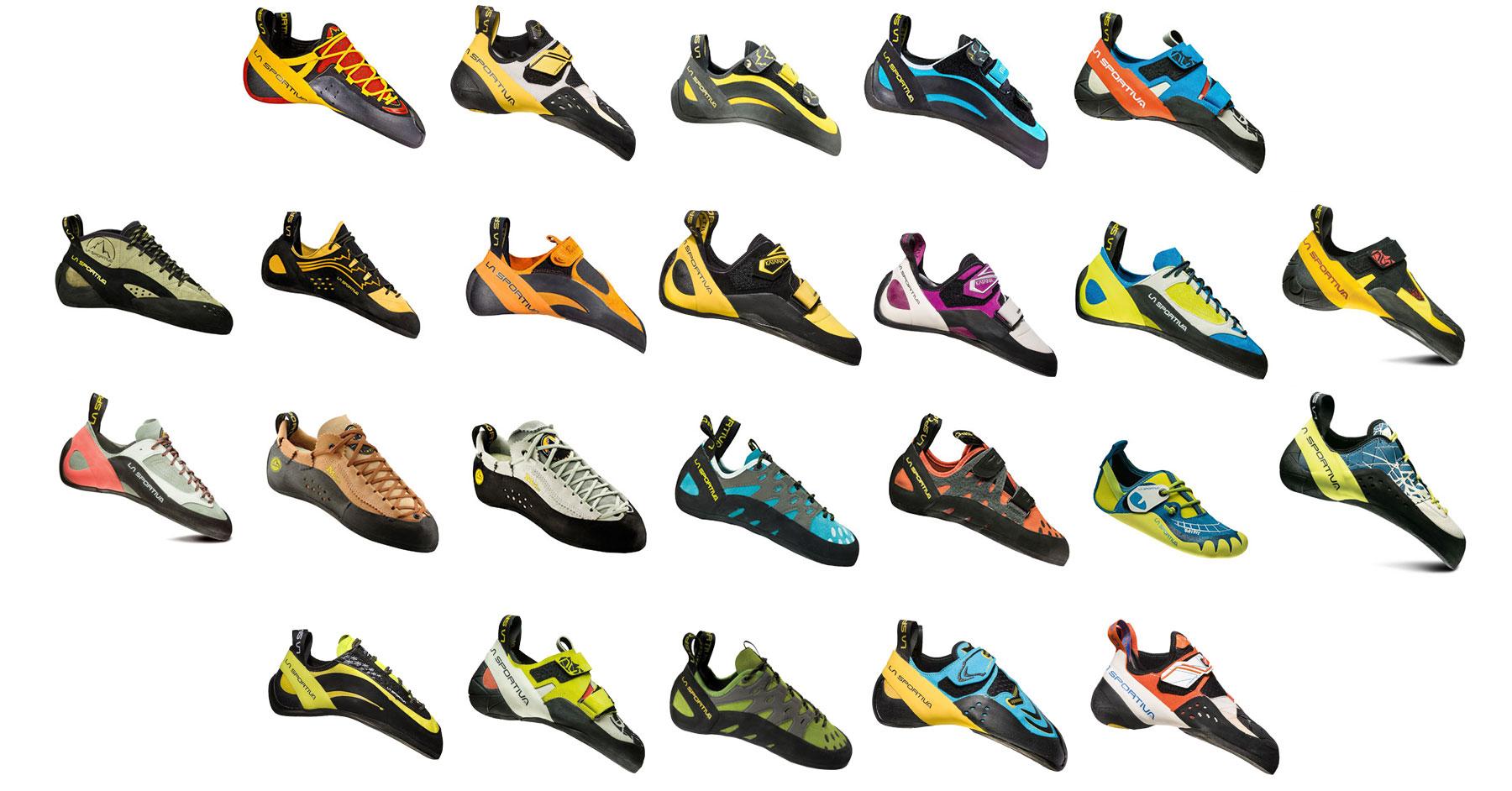 La Sportiva 2019 climbing shoe range