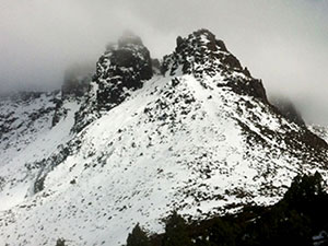 Overland Track in Winter