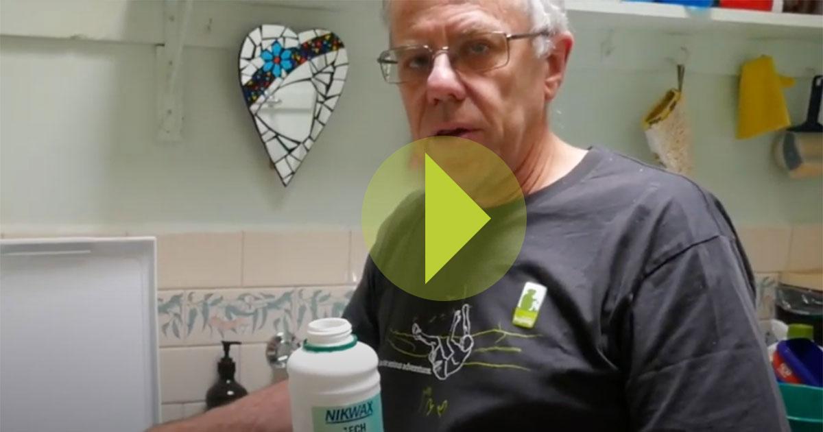 Rain jacket maintenance video