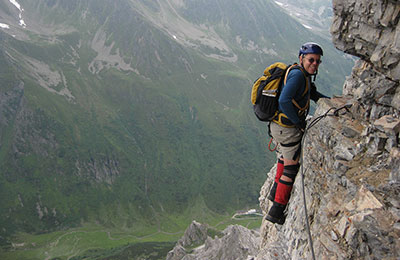Via ferrata in Europe