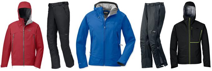 OR Maximus Jacket, OR Alibi Pants, OR Paladin Jacket, OR Paladin Overpants, OR Axiom Jacket