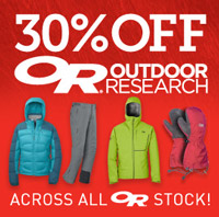 Outdoor Research 30% Off