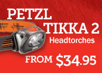 Petzl Tikka 2 Headtorch Range