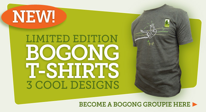 Limited Edition Bogong T-shirts in 3 cool designs - click here to view