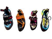 Choosing a climbing shoe