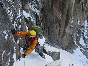 Ice Climbing Mt Kenya
